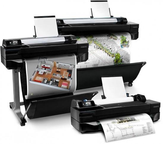 Широкоформатные принтеры от HP теперь с функцией Wifi