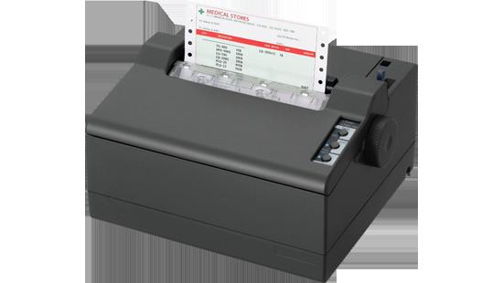 Epson LQ 50   компактный принтер для печати z форм и на узкой рулонной бумаге