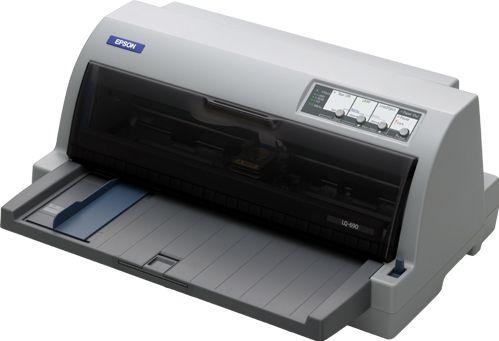 Epson LQ 690 Flatbed   планшетный принтер (106 колонок)