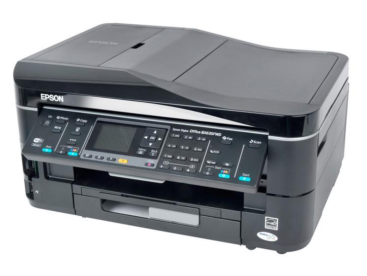 Epson Stylus Office BX635FWD   функциональное МФУ для малого офиса с возможностью работы без проводов