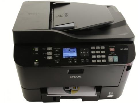 Epson WorkForce Pro WP 4535DWF   высокопроизводительное МФУ для малого офиса