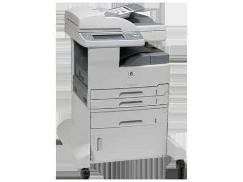 HP LaserJet M5035xs   новая интуитивная панель управления