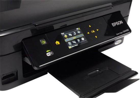 Epson Stylus SX445W   Стильное и быстрое МФУ с возможностью работы без проводов.