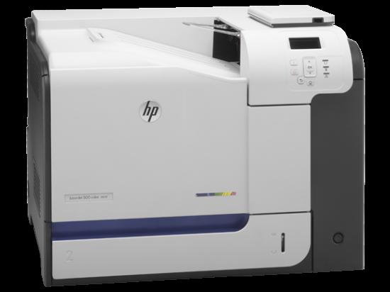 HP LaserJet Enterprise 500 M551n   яркие и насыщенные цвета