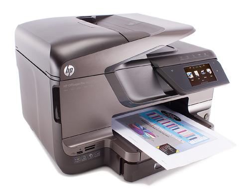 Профессиональный принтер HP Officejet Pro 8600 Plus e All in One   Ну очень профессионален.