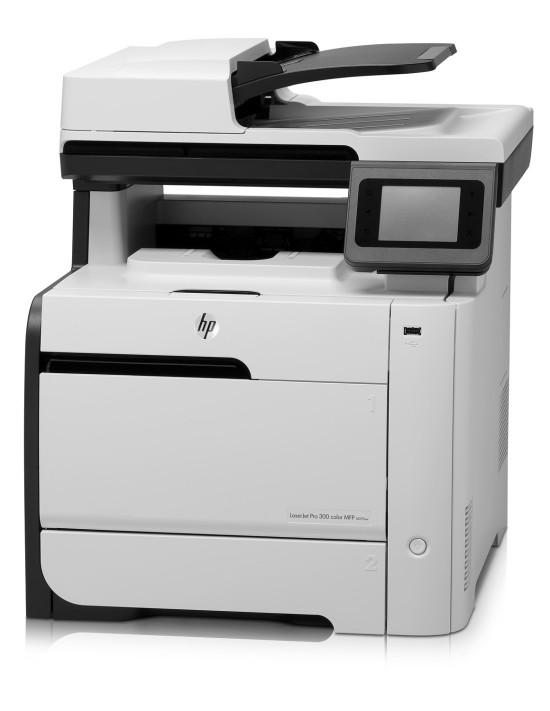 HP LaserJet Pro 300 MFP M375nw    высококачественные цветные маркетинговые материалы своими силами