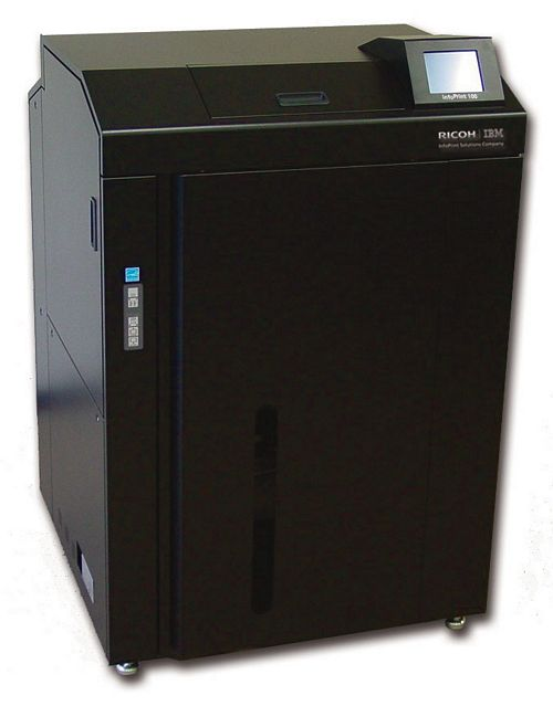 InfoPrint® 75   высококачественный, недорогой лазерный принтер для печати на фальцованной бумаге