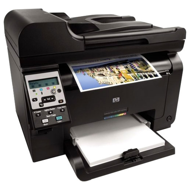 МФП HP LaserJet Pro 100 M175nw   лазерная печать в домашних условиях