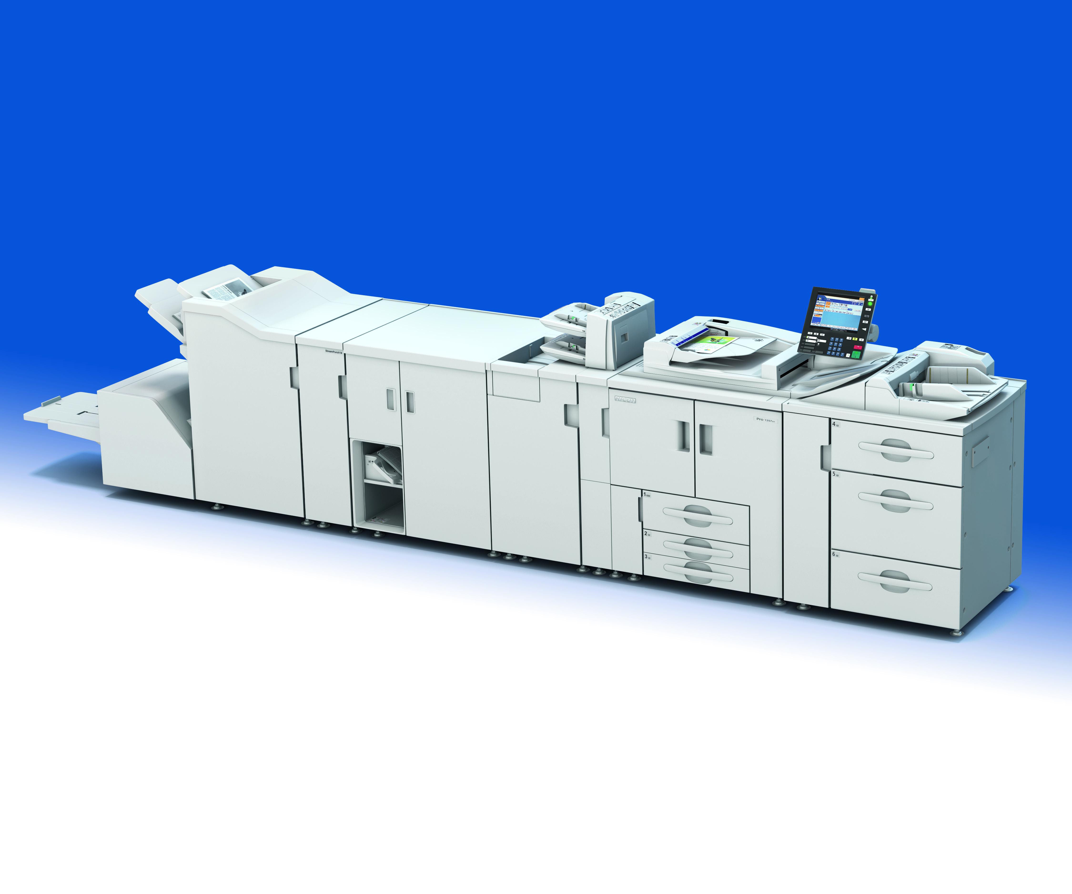 Ricoh Pro™ 1357   профессиональная печатная машина