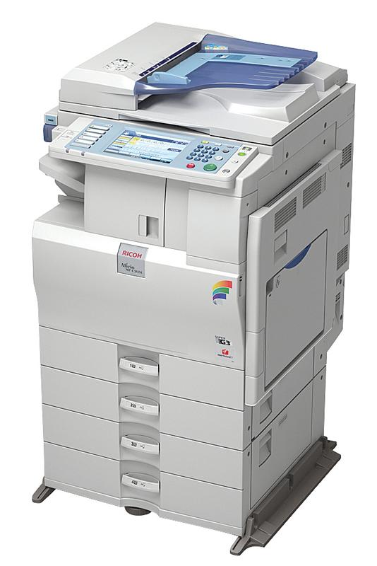 Ricoh Аficio™ MP C2051/MP C2551   на все случаи офисной жизни.