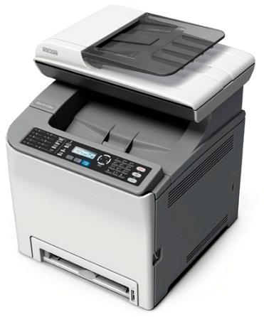 Ricoh Aficio™SP C242SF   Самая высокая скорость печати.