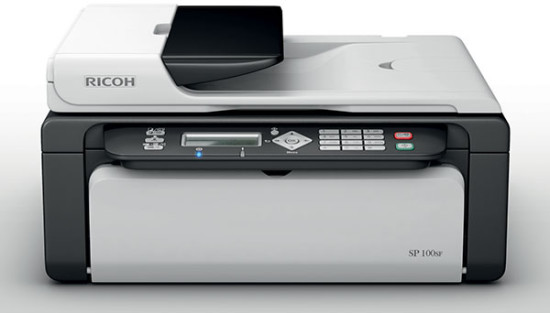 Ricoh Aficio™ SP 100SF   Один из первых в серии домашних