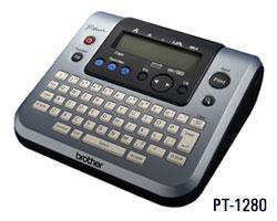Brother PT 1280   электронная настольная система P Touch для печати наклеек