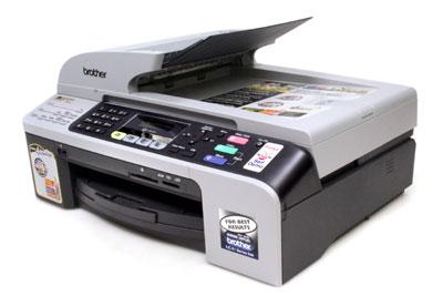 Brother MFC 5460CN   это струйный цветной копировальный аппарат, принтер, факс и сканер