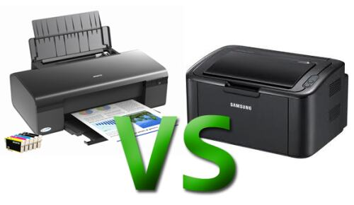 Какой принтер лучше купить домой — лазерный или струйный?