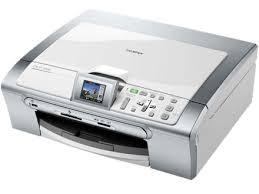 Brother DCP 350C – это струйный цветной копировальный аппарат, принтер, факс и сканер