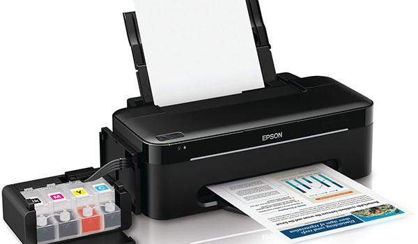 Как заправить принтер epson l800?