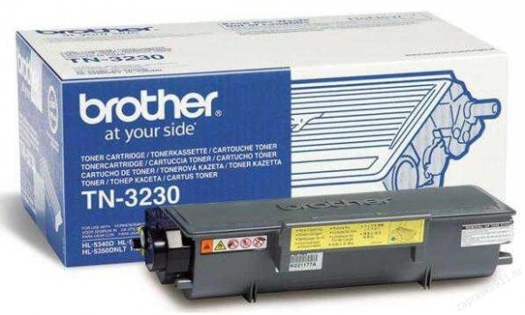 Как заправить brother 3230?