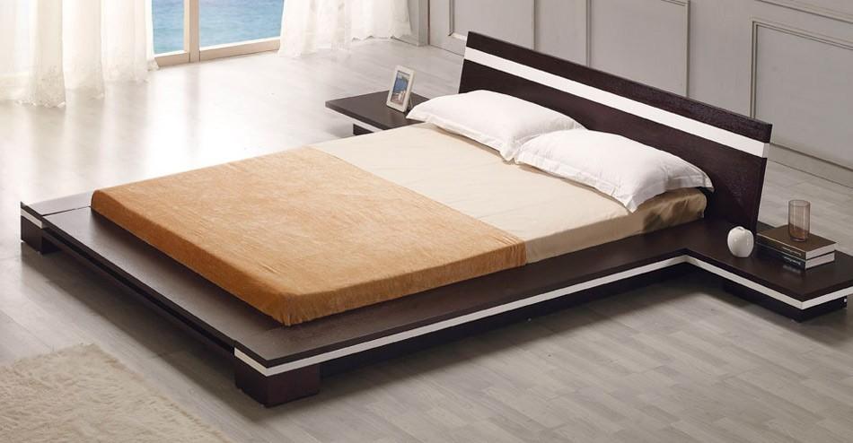 Кровати двуспальные и их формы