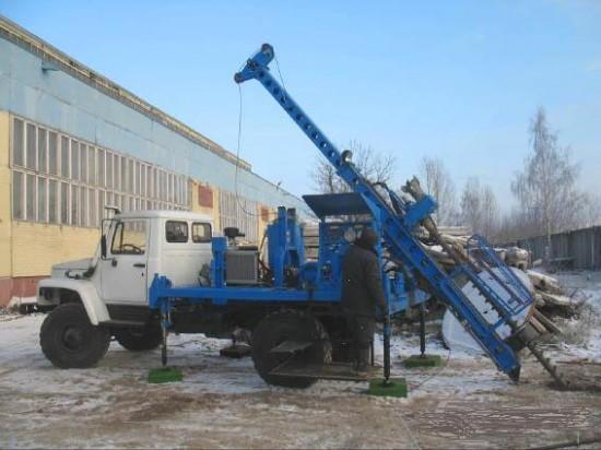 Буровая на базе ГАЗ 66 – надежный и недорогой инструмент.