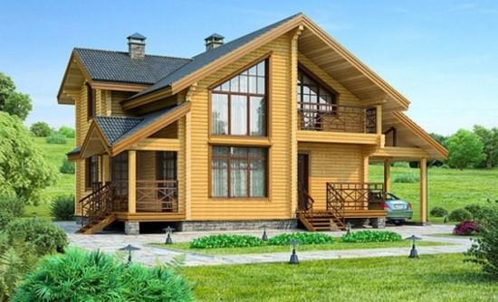 Преимущества и недостатки домов из бруса.