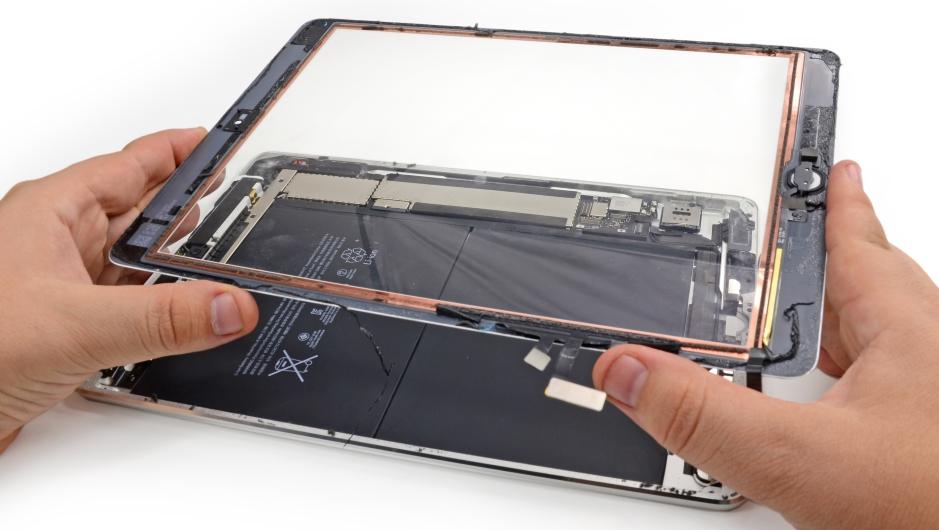 Замена стекла iPad 3 своими руками.