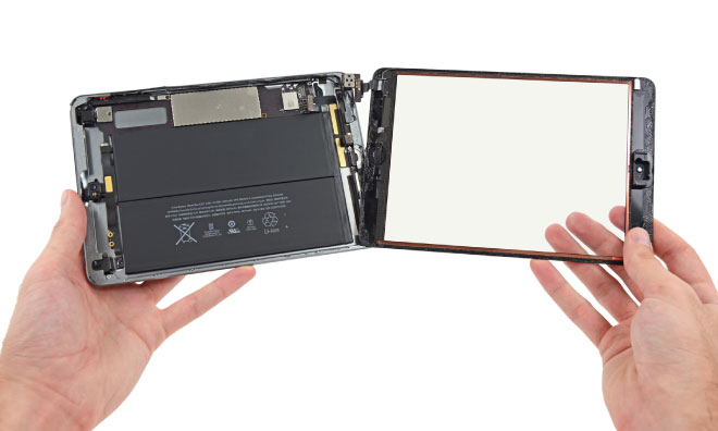 Ремонт iPad Mini: замена стекла