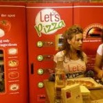 Пиццамашина  «Let's Pizza»  покоряет новые горизонты.