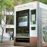 Автомат гигант для туристов установлен в Сан Франциско
