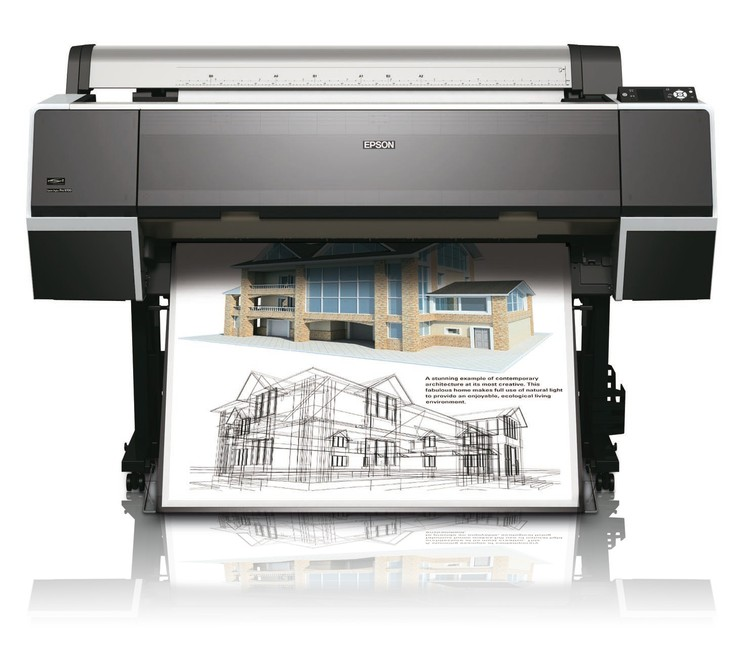 Epson Stylus Pro 9700   высокоскоростной принтер формата А0 для инженерных задач