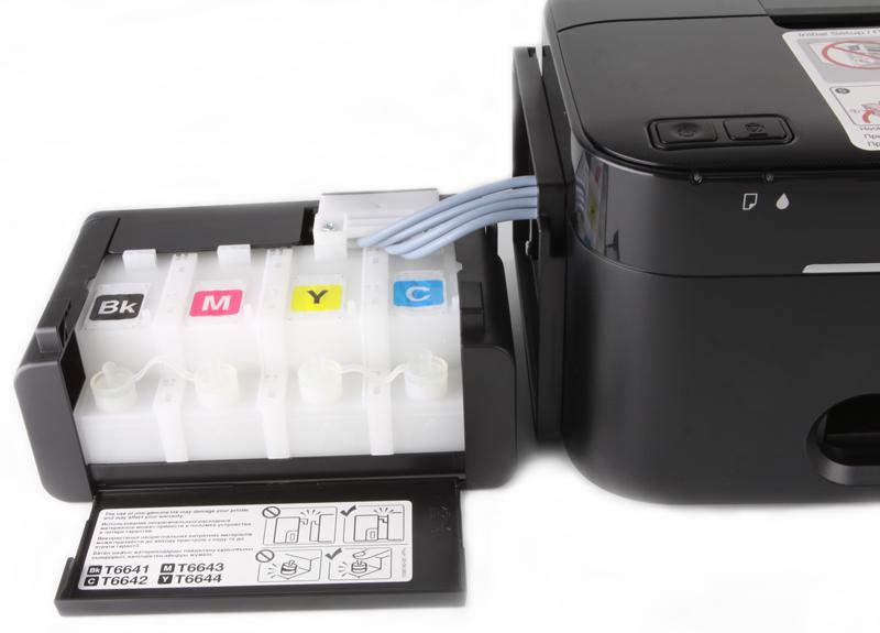 Epson L100   принтер с рекордно низкой себестоимостью печати цветных документов