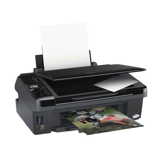 Epson Stylus SX420W   Универсальное МФУ с возможностью печати и сканирования без проводов.