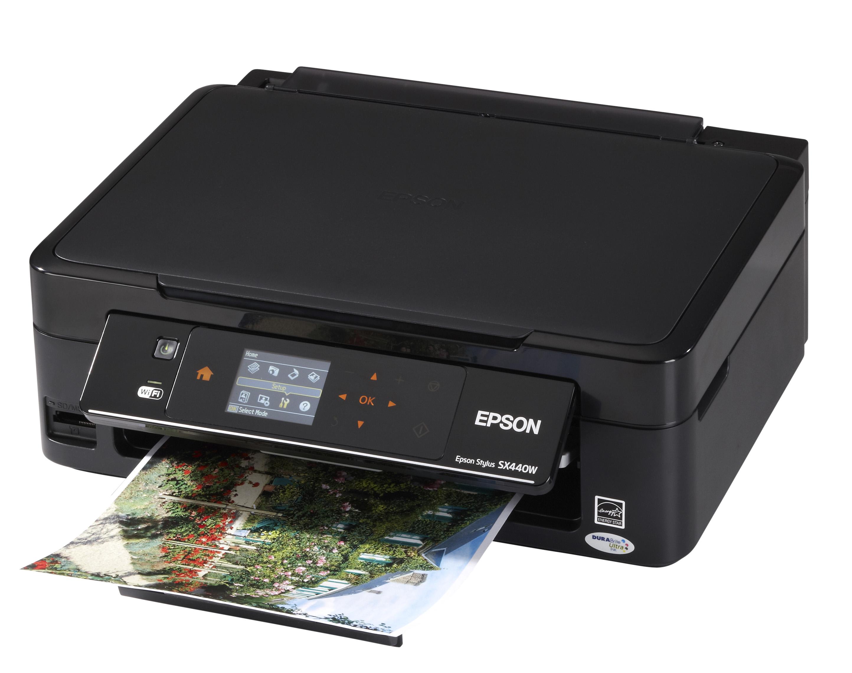 Epson Stylus SX440W   компактное и функциональное МФУ с возможностью печати и сканирования по Wi Fi