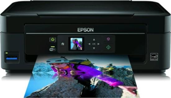 Epson Stylus SX435W    Универсальное и быстрое МФУ с возможностью работы без проводов.
