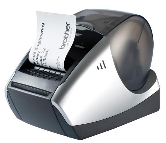 Brother QL 570   профессиональное стильное устройство для печати наклеек