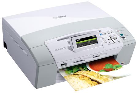 Brother DCP 385C   это струйный цветной копировальный аппарат, принтер, факс и сканер