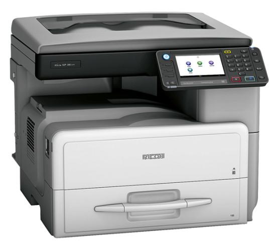 Ricoh Aficio™ MP 301SP   это высокопроизводительное и удобное в эксплуатации оборудование.