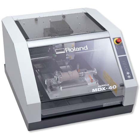 Roland MDX 40R   универсальная машина.