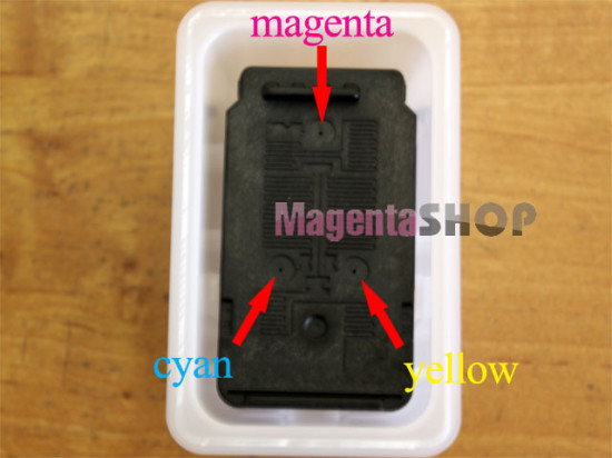 Как заправить картридж Canon CL 446