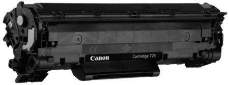 Как заправить картридж canon 725