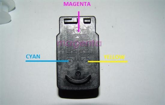 Как заправить картридж Сanon mp250?