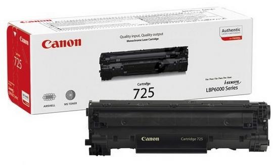 Как заправить картридж canon 725 starter?