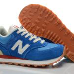 Beautiful-Best-Sellers-New-Balance-574-Women-Bule-Orange-Running-Shoes-For-Sale-698