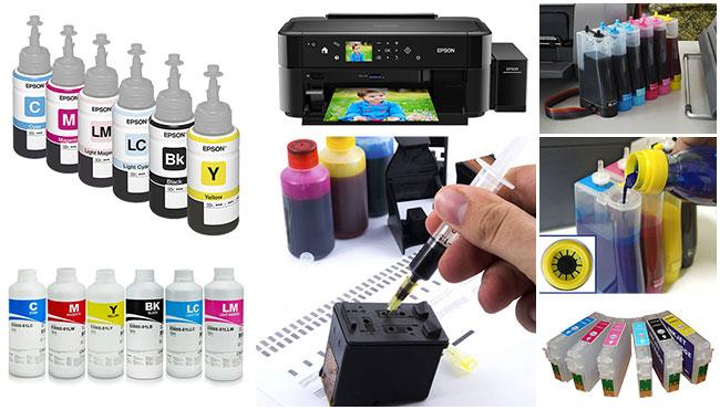 Как сделать чернила в принтере 249