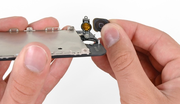 Замена кнопки Home на iPhone 5s своими руками.
