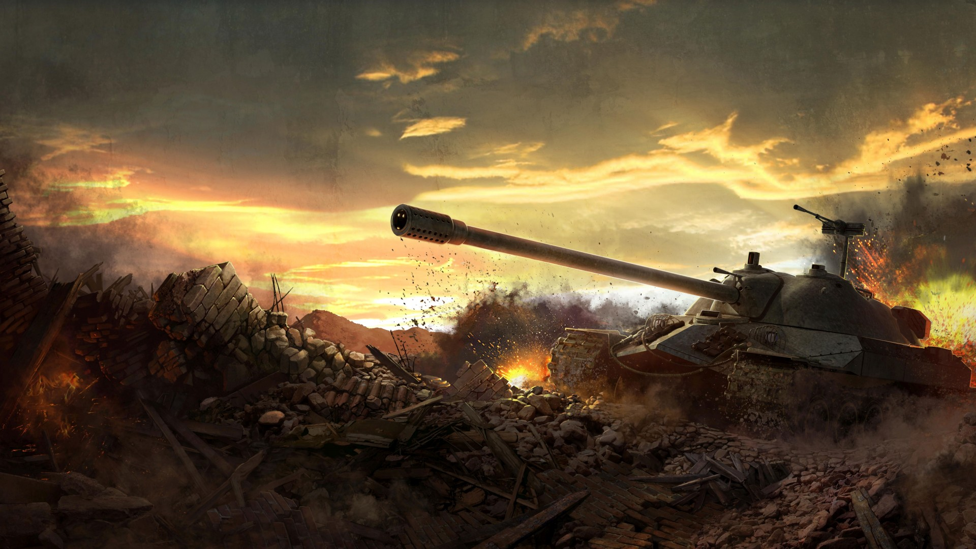 Тактика и стратегия игры в World Of Tanks.