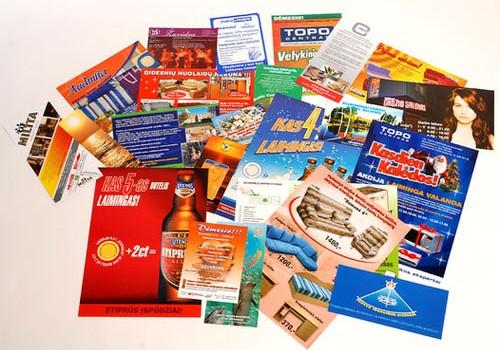 Преимущества и особенности рекламной полиграфии