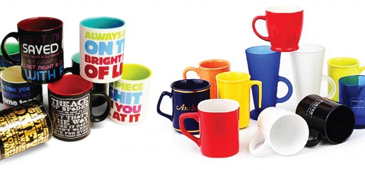 Печать на чашках: особенности
