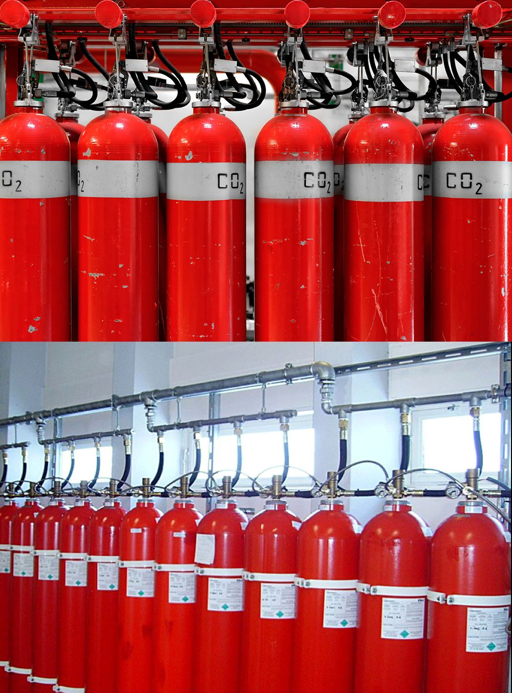 Газовое пожаротушение: особенности и преимущества