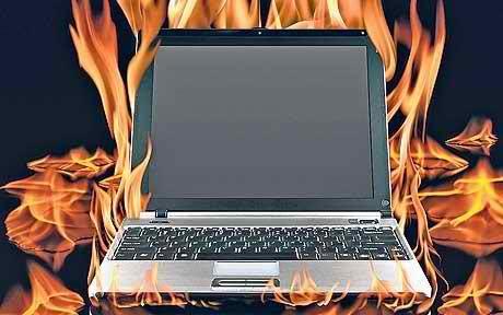 Почему ноутбук сильно шумит и греется?
